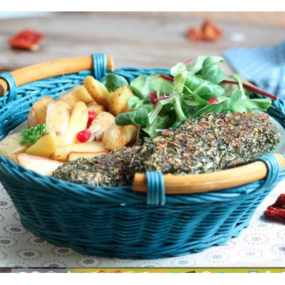 GREEN PIECE - Vegansteak alle ERBE AROMATICHE 200g