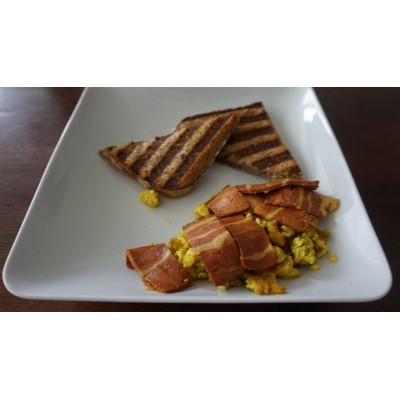 Bacon affumicato vegan 250g