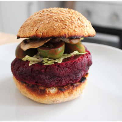 Mini burger alle rape e lenticchie rosse 140g