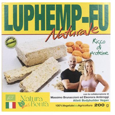 Luphemp-Fu naturale, Tofu di Canapa e Lupini, Natura e Bontà, 200g