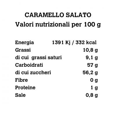 Caramello salato al cocco 200g