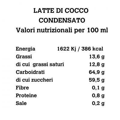 Latte di Cocco Condensato 200g